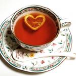 お茶を楽しむキッチンツール《ハートフロートレモン紅茶》